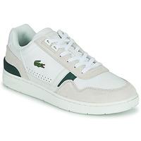 Skor Herr Sneakers Lacoste T-CLIP 0120 3 SMA Vit / Beige