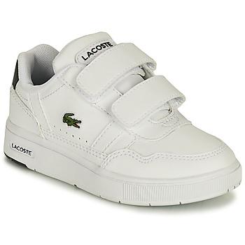 Skor Barn Sneakers Lacoste T-CLIP 0121 1 SUI Vit