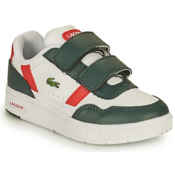 Skor Barn Sneakers Lacoste T-CLIP 0121 2 SUI Vit / Grön / Röd