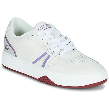 Skor Dam Sneakers Lacoste L001 0321 1 SFA Vit / Violett