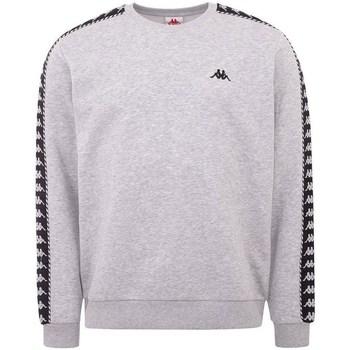 textil Herr Sweatshirts Kappa Ildan Gråa