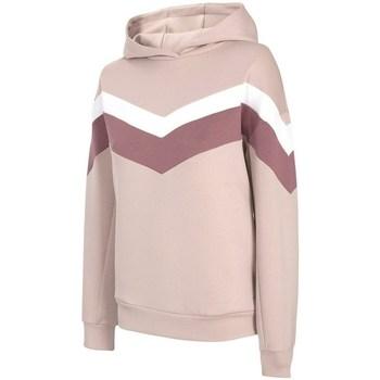 textil Dam Sweatshirts 4F BLD020 Beige