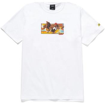 textil Herr T-shirts Huf T-shirt dhalsim ss Vit