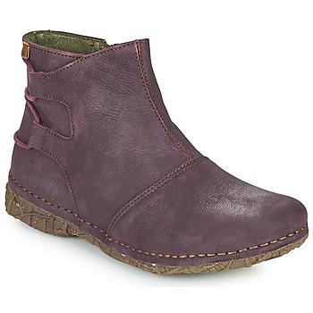 Skor Dam Boots El Naturalista ANGKOR Bordeaux