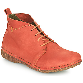 Skor Dam Boots El Naturalista ANGKOR Röd