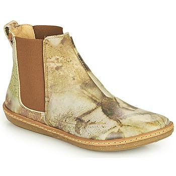 Skor Dam Boots El Naturalista CORAL Grå