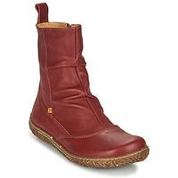 Skor Dam Boots El Naturalista NIDO ELLA Bordeaux