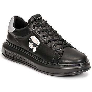 Skor Herr Sneakers Karl Lagerfeld KAPRI MENS KARL IKONIC 3D LACE Svart