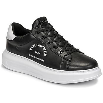Skor Herr Sneakers Karl Lagerfeld KAPRI MENS MAISON KARL LACE Svart