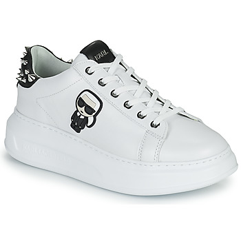 Skor Dam Sneakers Karl Lagerfeld KAPRI KARL IKONIC STUD TAB Vit