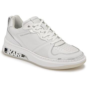 Skor Dam Sneakers Karl Lagerfeld ELEKTRA LAY UP LO Vit