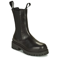 Skor Dam Boots Karl Lagerfeld BIKER II LONG GORE BOOT Svart