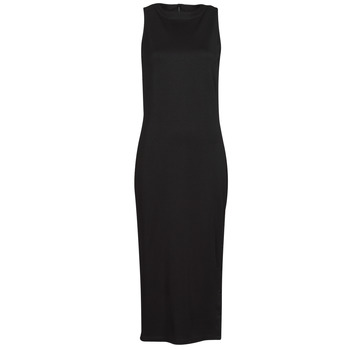 textil Dam Korta klänningar Karl Lagerfeld KITTED WRAP DRESS Svart