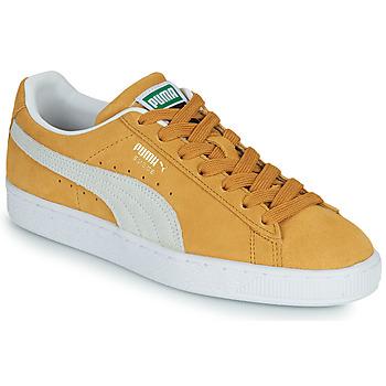 Skor Sneakers Puma SUEDE Gul / Vit