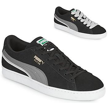 Skor Herr Sneakers Puma SUEDE TRIPLEX Svart / Grå