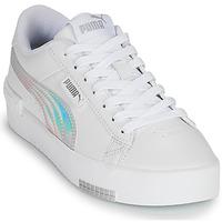 Skor Flickor Sneakers Puma JADA RAINBOW JR Vit / Flerfärgad
