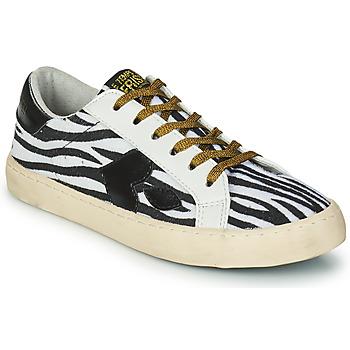 Skor Dam Sneakers Le Temps des Cerises AUSTIN Vit / Svart