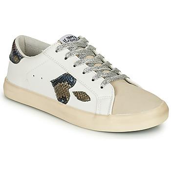 Skor Dam Sneakers Le Temps des Cerises AUSTIN Vit