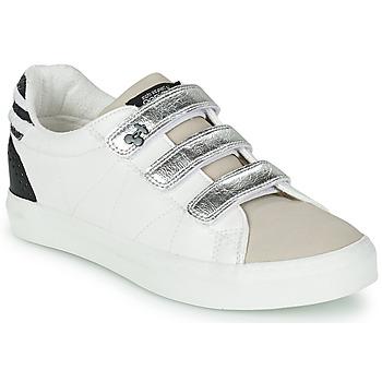 Skor Dam Sneakers Le Temps des Cerises VIC Vit / Silver