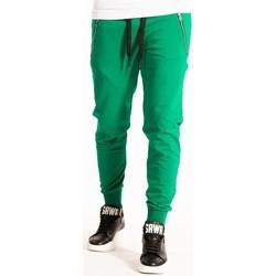 textil Herr Joggingbyxor Takeshy Kurosawa  Grön