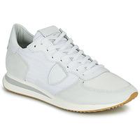 Skor Herr Sneakers Philippe Model TRPX LOW BASIC Vit