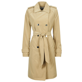 textil Dam Trenchcoats Guess SUSAN TRENCH Beige