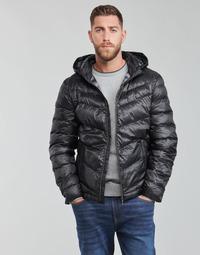 textil Herr Täckjackor Guess SUPER LIGHT PUFFA JKT Svart