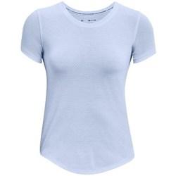 textil Dam T-shirts Under Armour Streaker Run Blå
