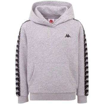 textil Herr Sweatshirts Kappa Igon Gråa