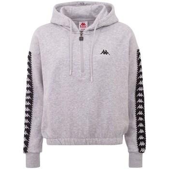 textil Dam Sweatshirts Kappa Ivaine Gråa