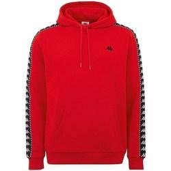 textil Herr Sweatshirts Kappa Igon Röda