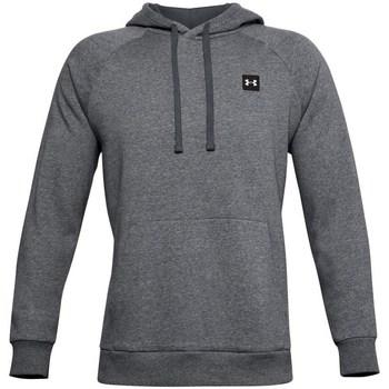 textil Herr Sweatshirts Under Armour Rival Fleece Hoodie Gråa