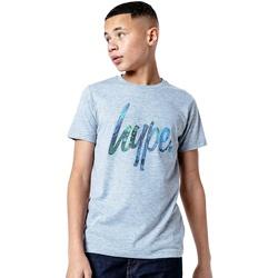 textil Barn T-shirts Hype  Grått