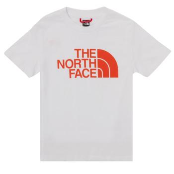 textil Pojkar T-shirts The North Face EASY TEE SS Vit