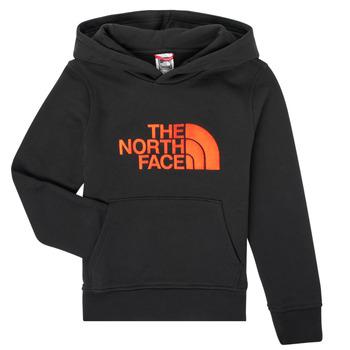 textil Pojkar Sweatshirts The North Face DREW PEAK HOODIE Svart