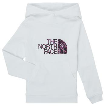 textil Flickor Sweatshirts The North Face DREW PEAK HOODIE Vit