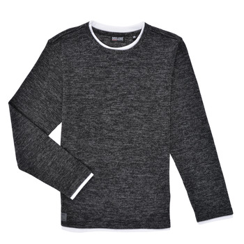 textil Pojkar Långärmade T-shirts Deeluxe MONAN Svart