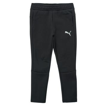 textil Pojkar Joggingbyxor Puma EVOSTRIPE PANT Svart