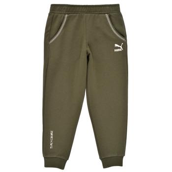 textil Pojkar Joggingbyxor Puma T4C SWEATPANT Kaki