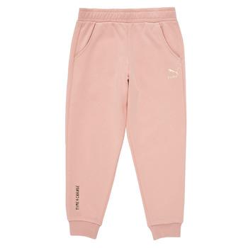 textil Flickor Joggingbyxor Puma T4C SWEATPANT Rosa