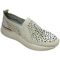 Skor Dam Loafers Susimoda SUSI4056bia bianco