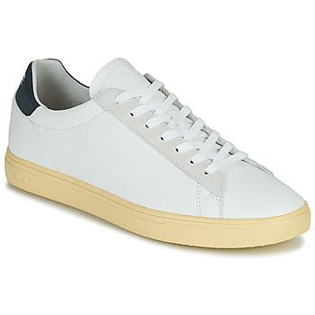 Skor Herr Sneakers Clae BRADLEY CALIFORNIA Vit / Blå