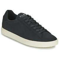 Skor Herr Sneakers Clae BRADLEY VEGAN Svart / Vit