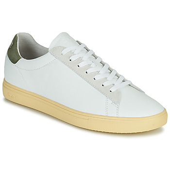 Skor Herr Sneakers Clae BRADLEY CALIFORNIA Vit / Grön