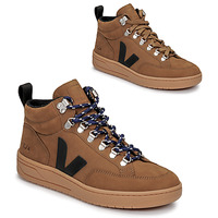 Skor Höga sneakers Veja RORAIMA Kamel / Svart