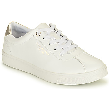 Skor Dam Sneakers Tommy Hilfiger COURT LEATHER SNEAKER Vit
