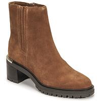 Skor Dam Boots Tommy Hilfiger TH OUTDOOR MID HEEL BOOT Cognac