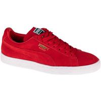 Skor Sneakers Puma Suede Classic Rouge