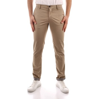 textil Herr Chinos / Carrot jeans Powell MBE097 WHITE