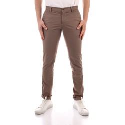 textil Herr Chinos / Carrot jeans Powell CBE412 WHITE